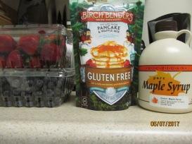 The beginnings of a Yummy Birthday Breakfast